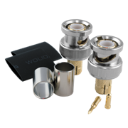 Коннектор PV-BNC (RG6U) Gold