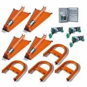 Комплект оборудования на четыре парковочных места CAME UNIPARK4