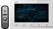 Комплект видеодомофона CTV-DP2700TM W
