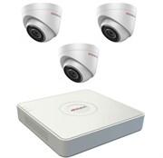 Комплект видеонаблюдения на 3 камеры для дома, дачи, офиса IP103MP