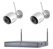 Готовый комплект видеонаблюдения для дома, дачи, офиса IP202UMPW