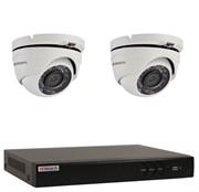 Комплект видеонаблюдения на 2 камеры для дома, дачи, офиса HDT302MP