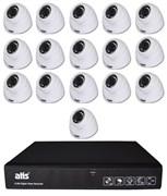 Комплект видеонаблюдения на 16 камер для дома, дачи, офиса MHD116MP