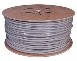 Кабель UTP 5e 4х2х0,5 (бухта 305м) кабель внутренний, Rexant 01-0043 - фото 10428