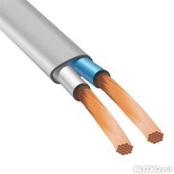 Силовой кабель ШВВП 2х0,5 - фото 10474