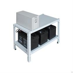 Стеллаж Бастион  АКБ 0,5х0,7х0,4-2П - фото 10807