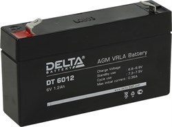 Аккумулятор Delta DT6012 - фото 10814