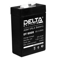Аккумулятор Delta DT6028 - фото 10815