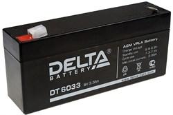 Аккумулятор Delta DT6033 - фото 10816