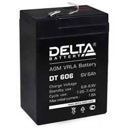 Аккумулятор Delta DT606 - фото 10818
