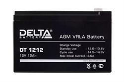 Аккумулятор Delta DT1212 - фото 10822