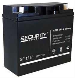 Аккумулятор Security Force SF 1217 - фото 10824