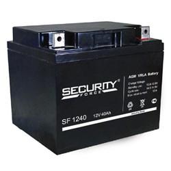 Аккумулятор Security Force SF 1240 - фото 10835