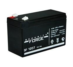 Аккумулятор Security Force SF 1207 - фото 10838