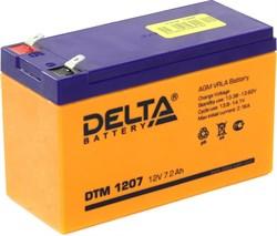 Аккумулятор Delta DTM1207 - фото 10841