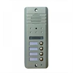 Вызывная панель Commax DRC-4DC (серебро) - фото 10962