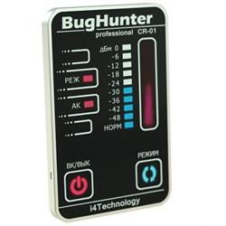 """Детектор скрытых жучков, видеокамер и прослушивающих устройств """"BugHunter CR-01"""" Карточка - фото 5451"""