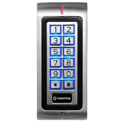 Кодонаборная панель Tantos TS-KBD-EM-WP Metal - фото 9860