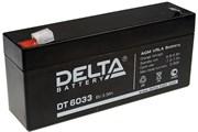 Аккумулятор Delta DT6033