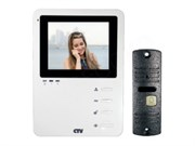 Комплект видеодомофона CTV-DP1400 W