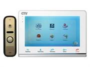 Комплект видеодомофона CTV-DP2700IP W