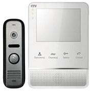 Комплект видеодомофона CTV-DP2400MD W