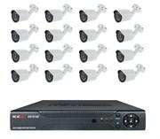 Комплект видеонаблюдения на 16 камер для дома, дачи, офиса AHD116UMP