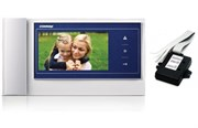 Комплект видеодомофона Commax CDV-70K синий Vizit