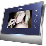Комплект видеодомофона Commax CDV-70U синий Vizit