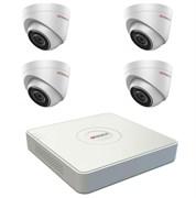 Комплект видеонаблюдения на 4 камеры для дома, дачи, офиса IP104MP