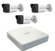 Комплект видеонаблюдения на 3 камеры для дома, дачи, офиса IP103UMP
