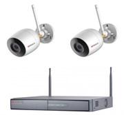 Комплект видеонаблюдения на 2 камеры для дома, дачи, офиса IP202UMPW