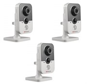 Комплект видеонаблюдения на 3 камеры для дома, дачи, офиса IP214W3MP