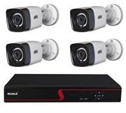 Комплект видеонаблюдения на 4 камеры для дома, дачи, офиса MHD104UMP