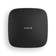 Центр управления системой Ajax Hub Plus (black)