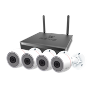 Комплект видеонаблюдения на 4 камеры для дома, дачи, офиса EZVIZ CS-BN3424A0-E30