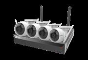 Комплект видеонаблюдения на 4 камеры для дома, дачи, офиса EZVIZ CS-BW3424B0-E40