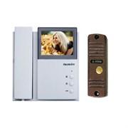 Комплект видеодомофона Falcon Eye FE-4CHP2 + AVC-305 (PAL) Медь