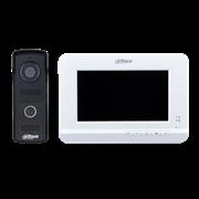 Комплект видеодомофона Dahua DHI-VTK-VTO2010D-VTH2020DW