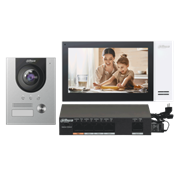 Комплект видеодомофона Dahua DHI-KTP01(F)